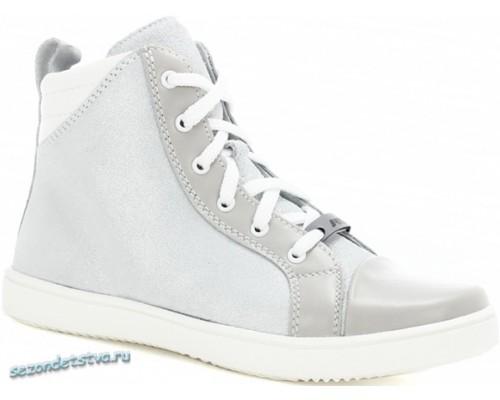 Ботинки Bartek 17359-1MJ серебряные