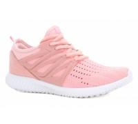 Кроссовки светло-розовые