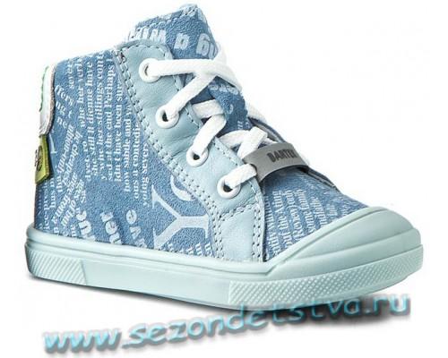Ботинки шнурки+молния 81806-Q86 Bartek