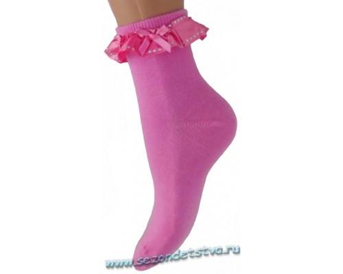 Носки розовые Милана Корея
