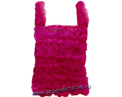 Топ темно-розовый pt126