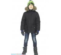 Куртка-аляска черная