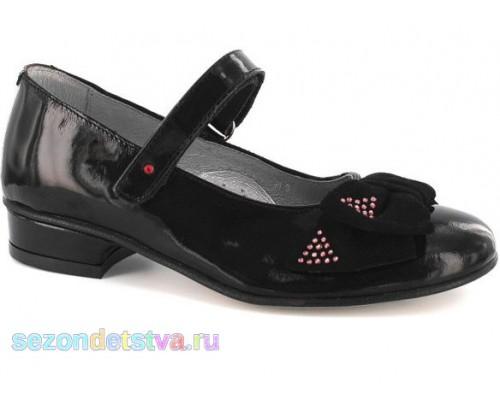 Туфли черные 35329-0F9 Bartek