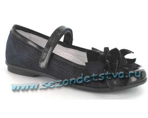 Туфли темно-синие/черные Бартек 58362-0s5