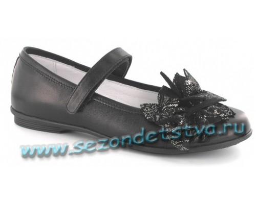 Туфли черные Бартек 58362-n2