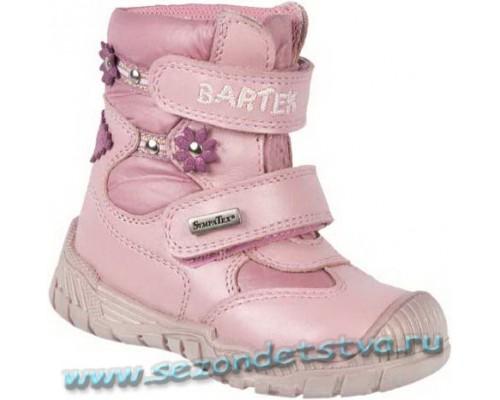 113320-02М Бартек зимние ботинки для девочки с мембраной
