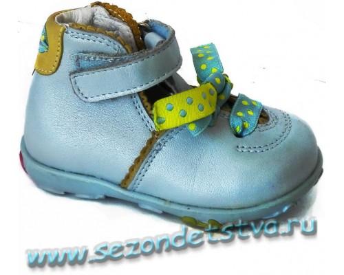 Туфли голубые 81841-N22 Bartek