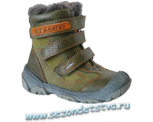 Ботинки 919510-48N Bartek зимние на цигейке