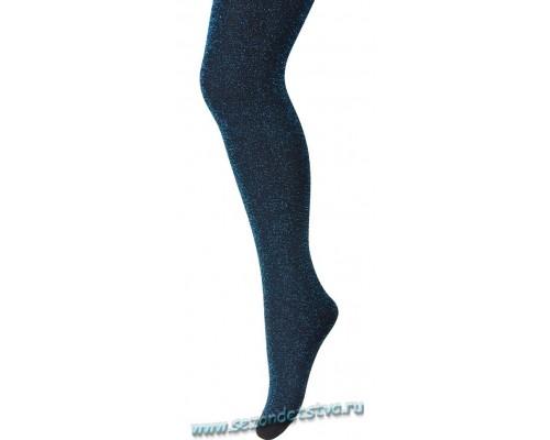 Колготки т.синие GLITTER