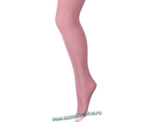 Колготки розовые GLITTER
