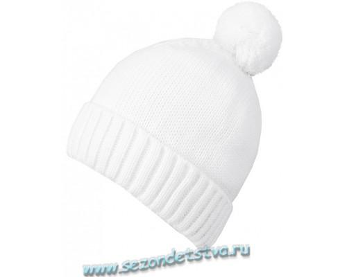 К 214/ш/белый шапка для девочки