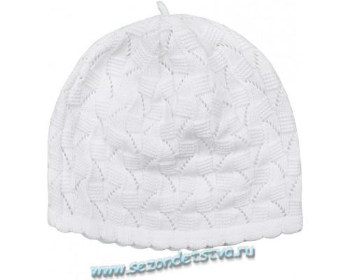 К 218/3белый шапка для девочки