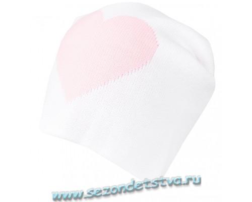 К 236/10/белый шапка для девочки