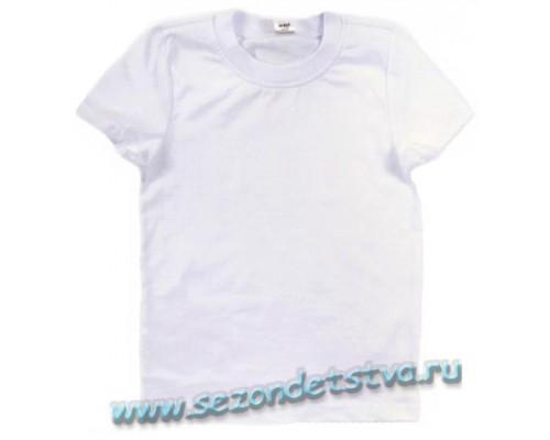 Футболка белая К3050 Crockid