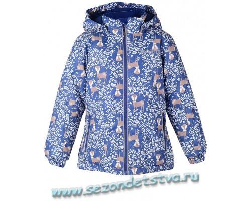 Crockid ВК 38008/Н1 куртка мембранная для девочки синяя