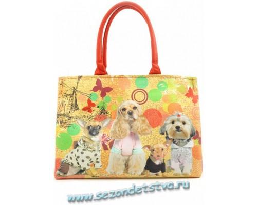 Детская/женская сумка из гобелена