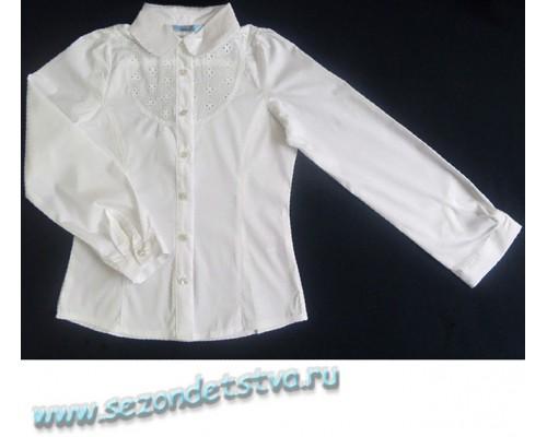 Блузка белая TK39007 Crockid