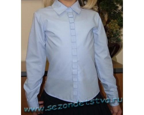 Блузка голубая TK39009/1 Crockid