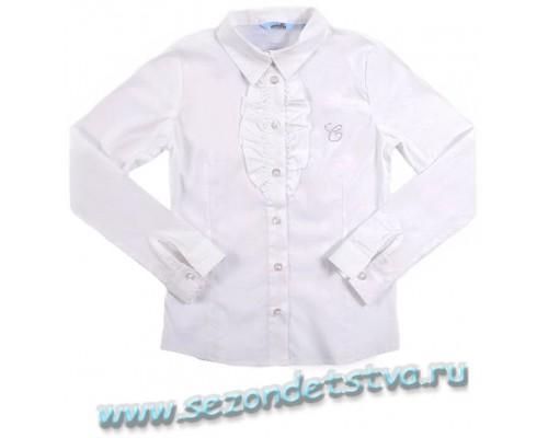 Блузка белая TK39015 Crockid