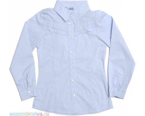 Блузка голубая TK39024 Crockid