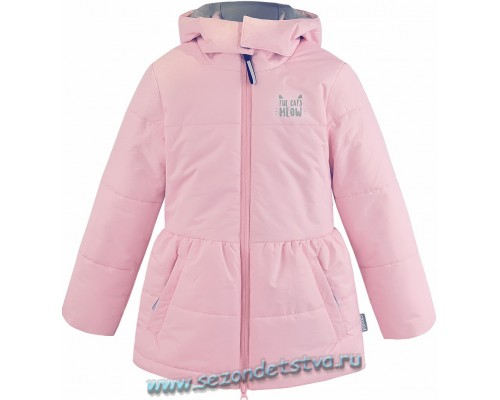 Куртка розовая ВК 38023/1 Crockid