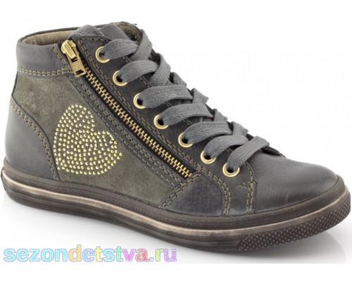 Ботинки серые деми G4110029 Froddo