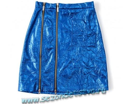 Юбка синяя 861017 ILD
