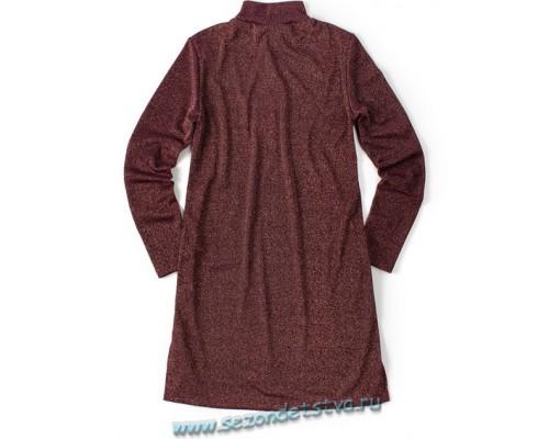 Платье баклажан