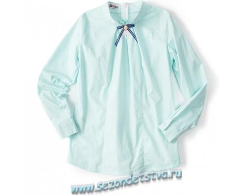 Блузка мятная