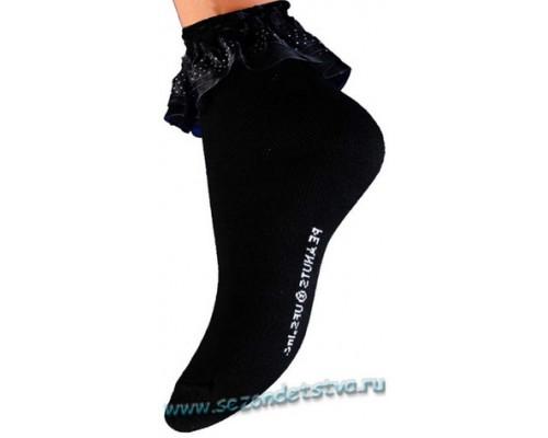 Носки черные Гламур Корея