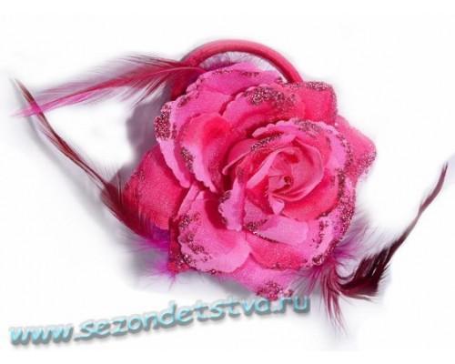 Заколка 3 в 1, розовая