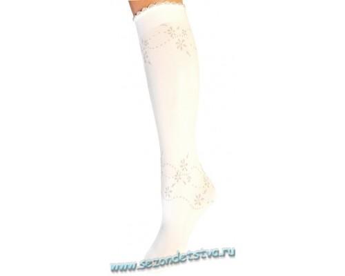 Гольфы белые 2пары/уп 584 Ballerina