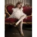 Колготки белые фантазийные Сара Ballerina