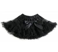 Пышная юбка черная