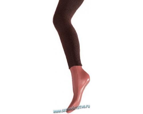 Легинсы коричневые