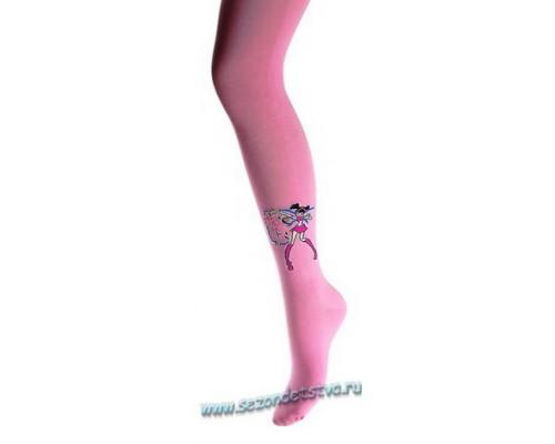 Колготки розовые Винкс Муза2 Корея