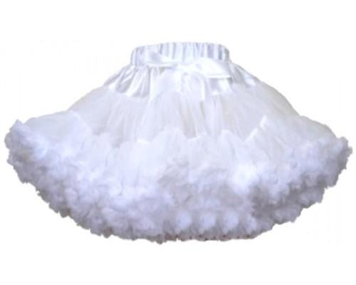 Пышная юбка белая