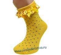 Носки желтые