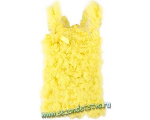 Топ желтый