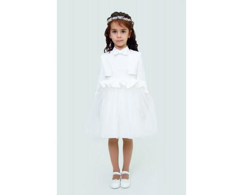 Платье с жакетом Ladetto 1Н61-1 Ладетто, цвет айвори - молочный