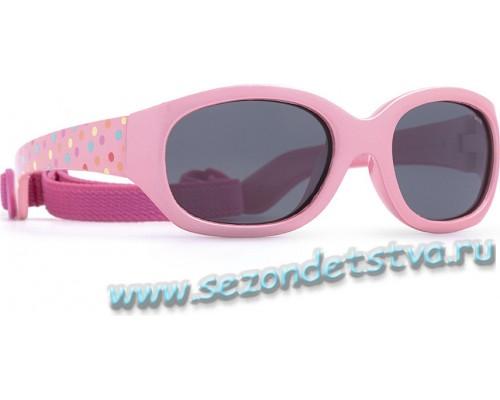 Детские розовые солнцезащитные очки K2816B INVU