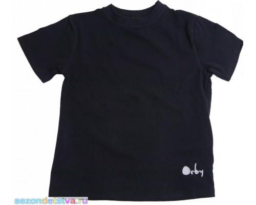 Футболка черная Orby 1160