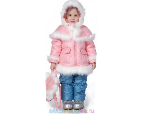 Зимний комплект с сумочкой для девочки, Орби