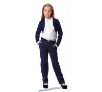 Жакет-болеро синий
