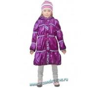 Пальто лиловое