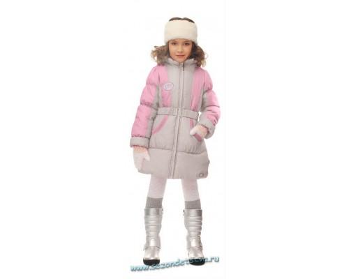 Пальто 30587 Orby малиновый/розовый
