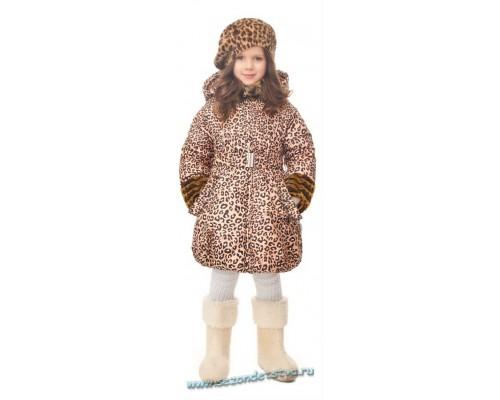 Пальто Orby 30663/2 цвет леопард