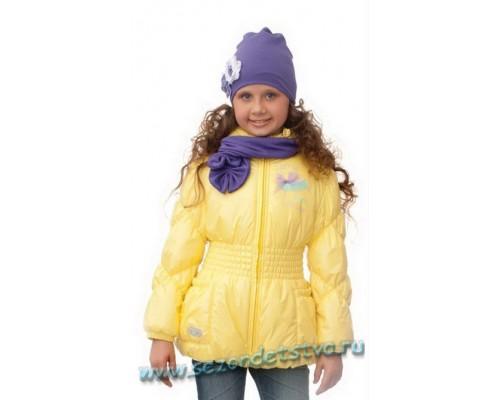 Куртка утепленная желтая 60005 Orby