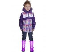 Куртка фиолетовая