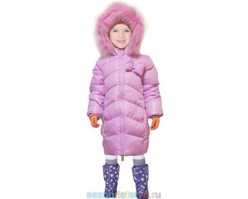 Пальто розовое 60897/3  Orby